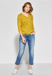 Cecil - MIT BLUMENPRINT  - Blouse - yellow - 1