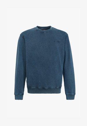 Sweatshirt - blue washed