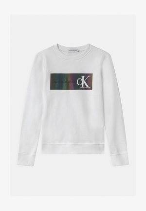 REFLECTIVE LOGO - Sweatshirt - white