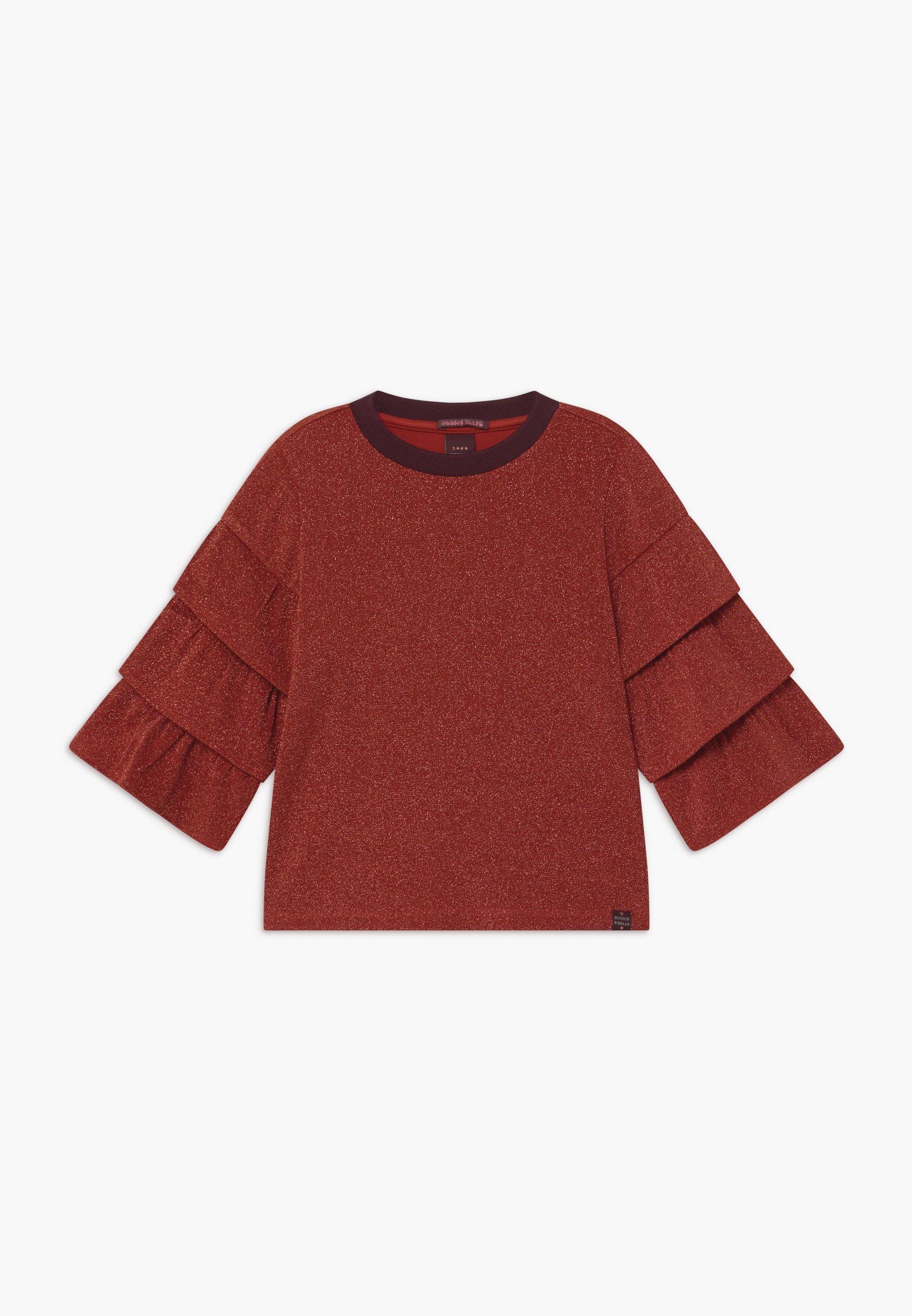 Kids RUFFLE DETAIL SLEEVES - Long sleeved top