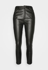 Glamorous Petite - TROUSER WITH POCKET DETAIL - Trousers - black - 5