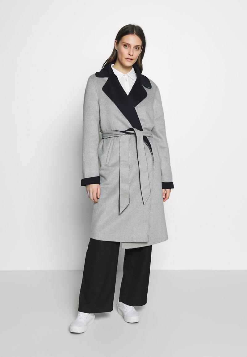 Expresso - BRENDA - Classic coat - hellgrau
