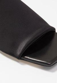 MIISTA - CATERINA - Pantofle - black - 2