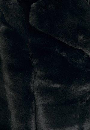 SHORT COLLAR COAT - Giacca invernale - black