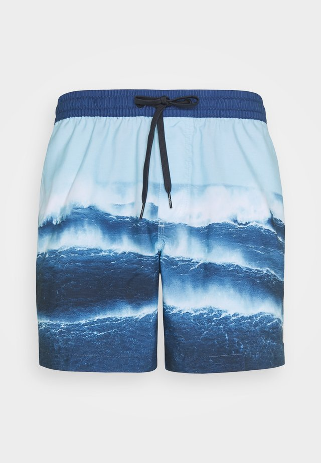 JETLAGVL - Swimming shorts - airy blue