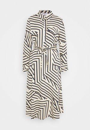 AVIANNA RAYE SHIRT DRESS - Robe d'été - beige/black