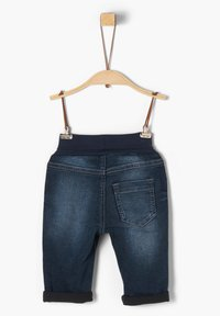 s.Oliver - Denim shorts - dark blue - 1