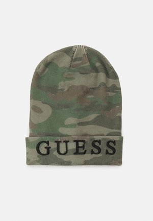 UNISEX HAT - Muts - allover olive