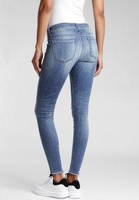 Gang - SKINNY FIT KASERIA - Jeans Skinny Fit - rivera vint destroy - 1