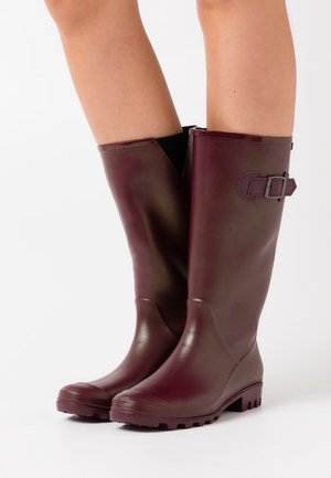 Wellies - burgundy