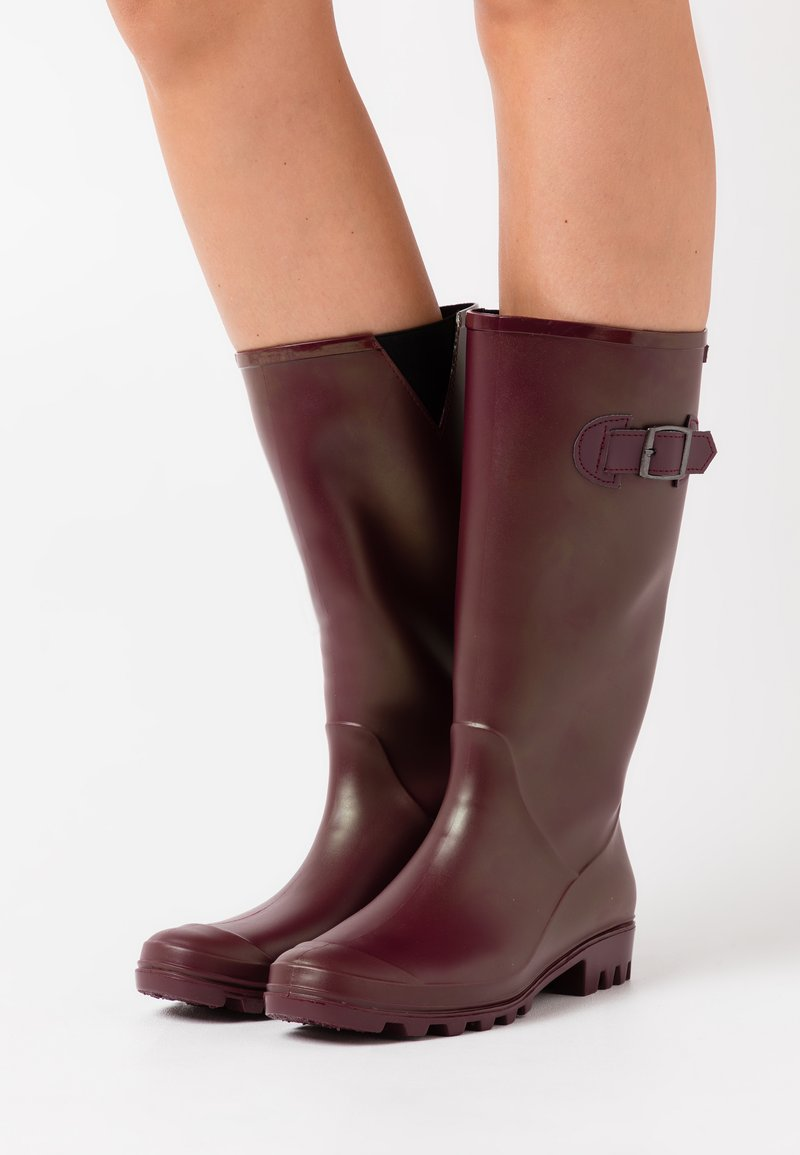 XTI - Wellies - burgundy