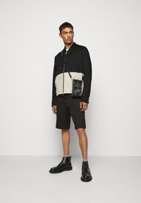 Neil Barrett - TRAVEL SLIM BOMBER - Bomber Jacket - black/natural - 1