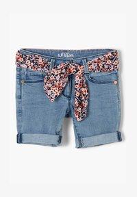 s.Oliver - Denim shorts - light blue - 1