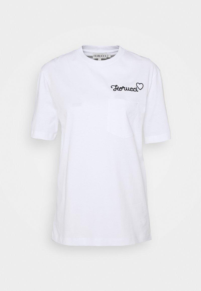 Fiorucci - T-shirt con stampa - white