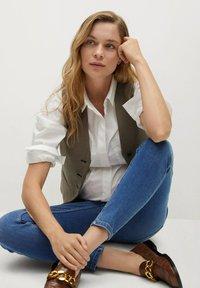 Mango - MTERNITY-I - Jeans Skinny Fit - dunkelblau - 5