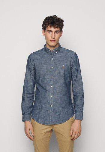 CHAMBRAY SLBDPPCS - Shirt - dark indigo