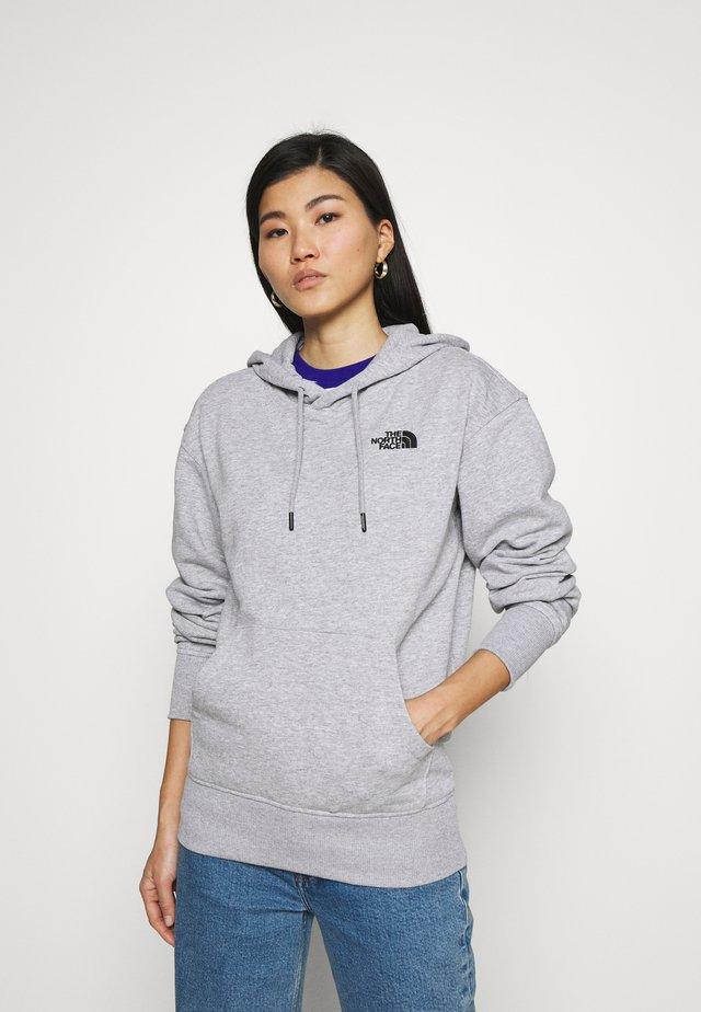 ESSENTIAL HOODIE - Jersey con capucha - tnf light grey heather