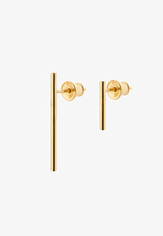 FRENCH COUPLE EARRINGS - Boucles d'oreilles - gold