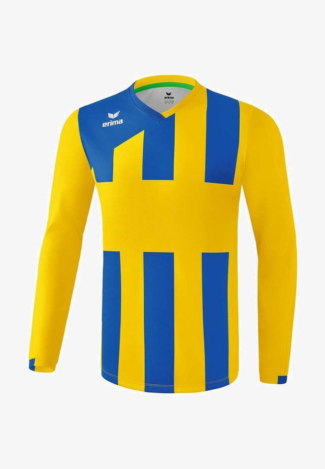 SIENA - Sports shirt - gelb / new royal