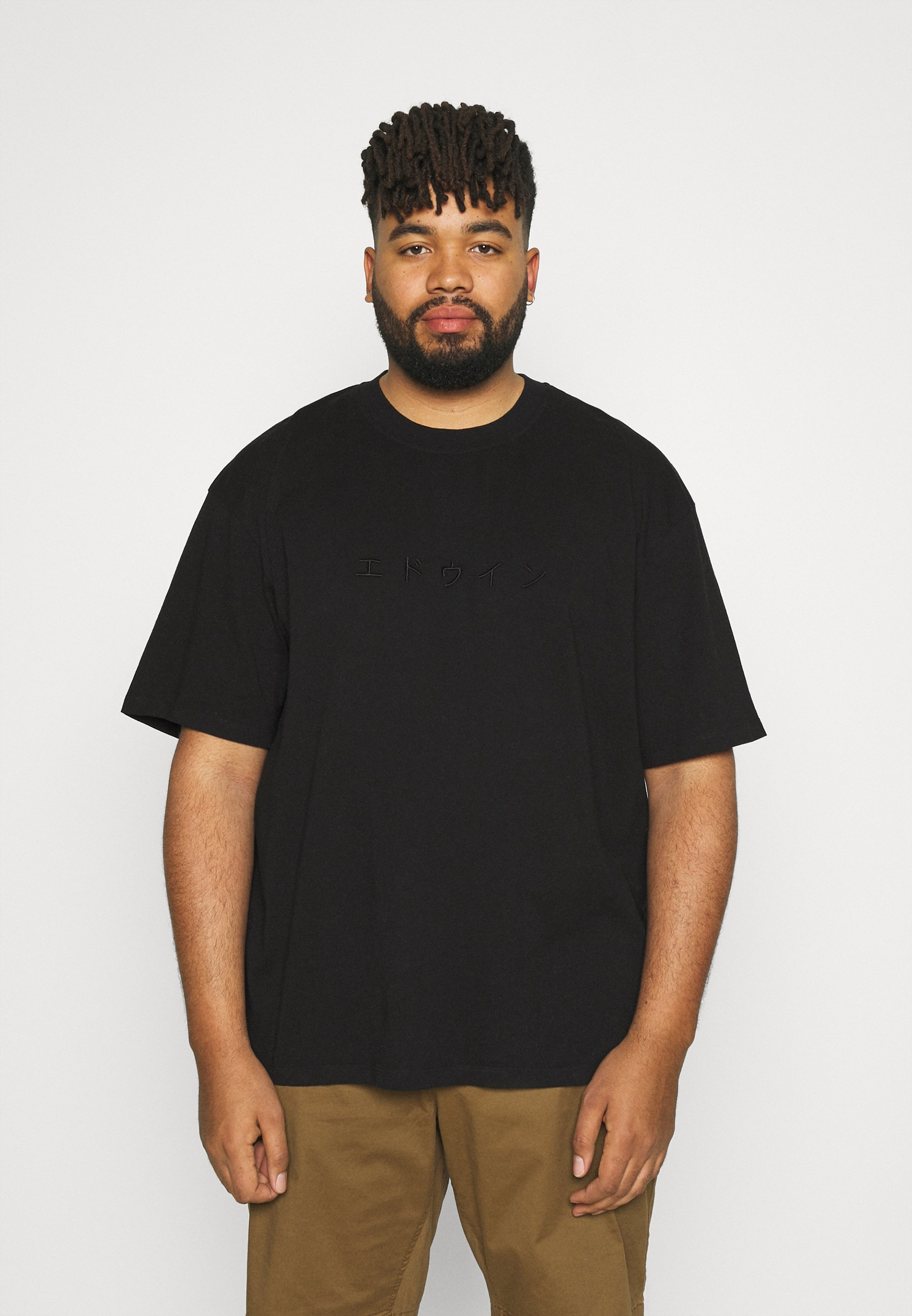 Homme KATAKANA EMBROIDERY - T-shirt basique