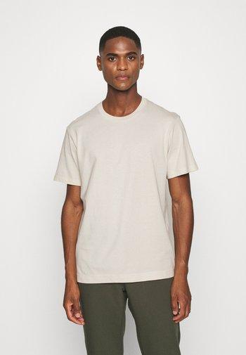 T-shirt - bas - beige dusty light