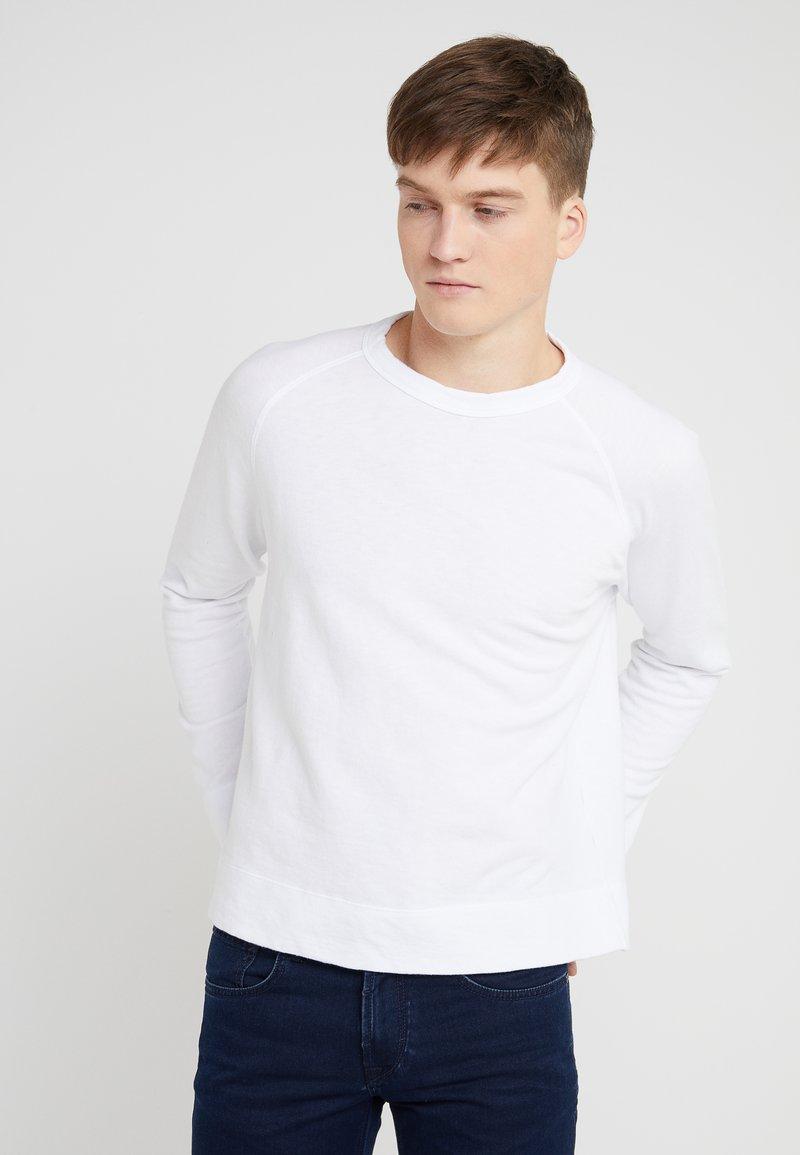 James Perse - VINTAGE RAGLAN - Sweatshirt - white
