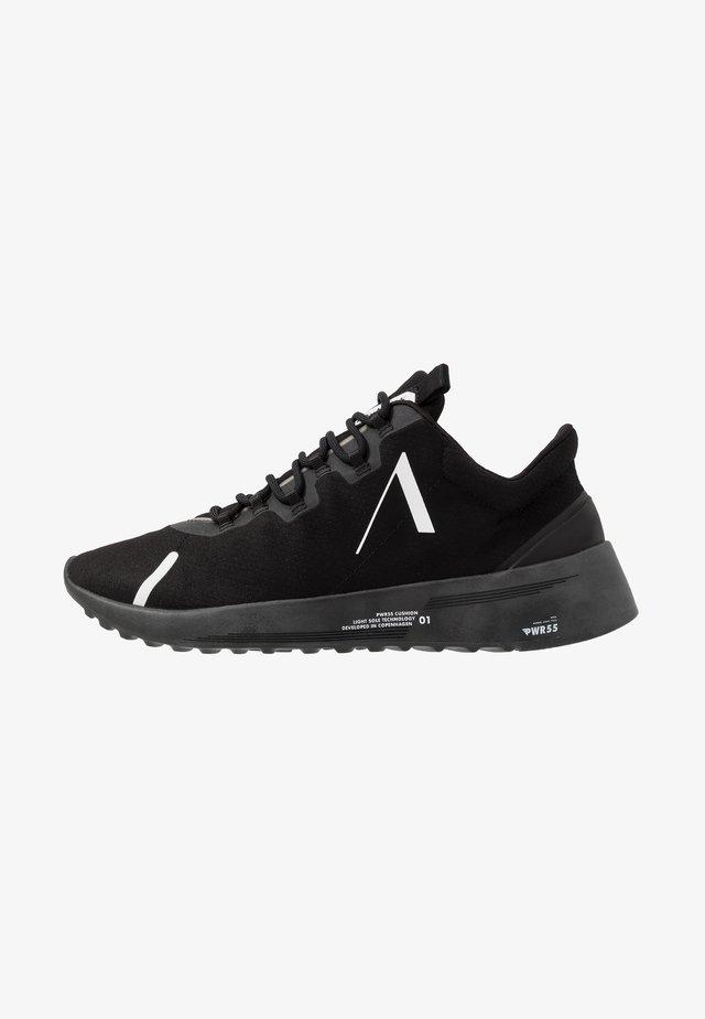 AXIONN PWR55 - Trainers - all black/white
