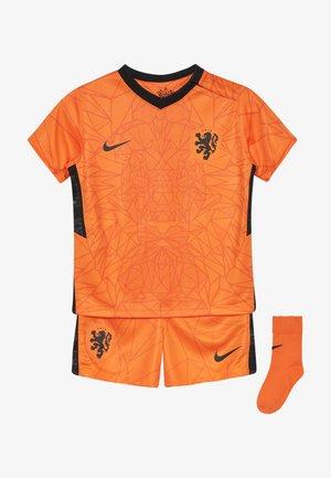 NIEDERLANDE KNVB I NK BRT KIT HM SET - Sports shorts - safety orange/black