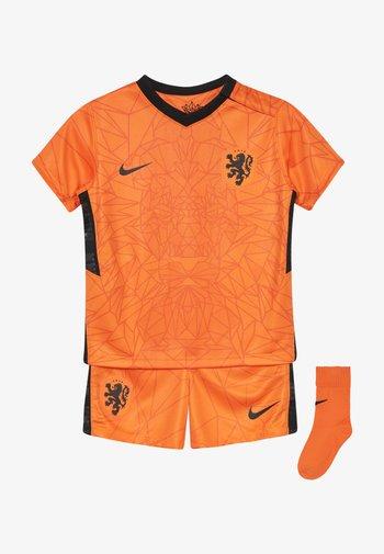 NIEDERLANDE KNVB I NK BRT KIT HM SET - Club wear - safety orange/black