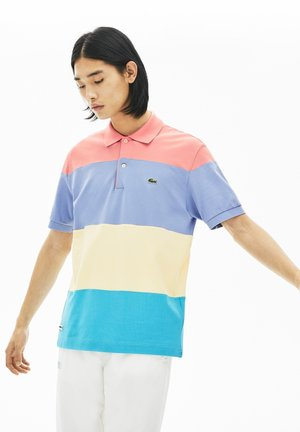 SHORT SLEEVES - PH5077 - Polo - turquoise/jaune/violet/rose