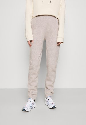 COZY PANTS - Tracksuit bottoms - nougat