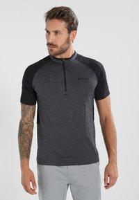 Vaude - TAMARO - T-shirt imprimé - iron - 0