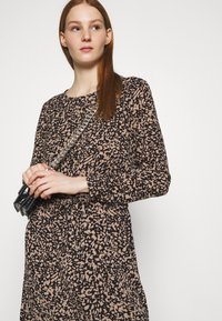 ONLY - ONLNOVA LUX DRAW STRING DRESS - Kjole - black - 3
