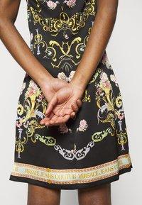 Versace Jeans Couture - LADY DRESS - Koktejlové šaty/ šaty na párty - black - 4