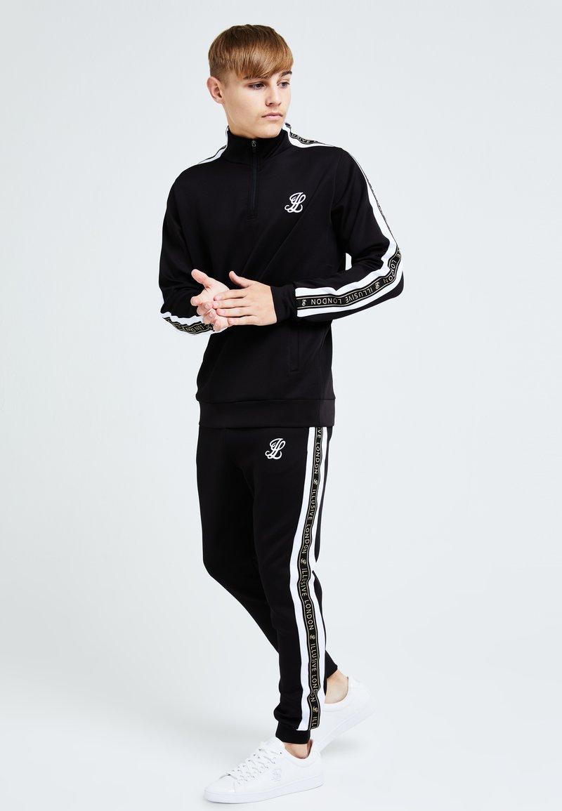 Illusive London Juniors - DIVERGE  - Sweatshirt - black gold  white