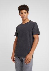 DRYKORN - SAMUEL - T-shirt - bas - anthracite - 0