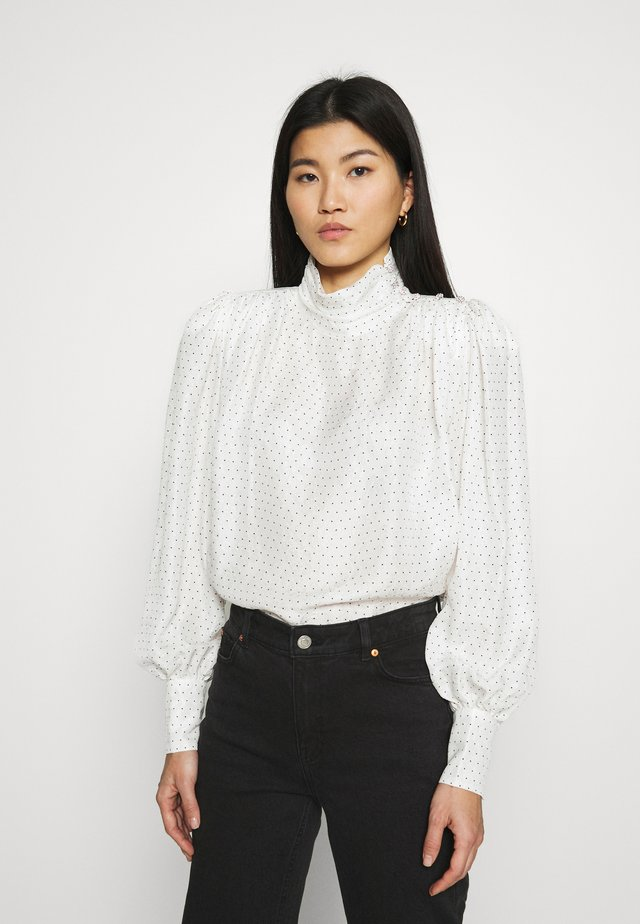 DELIA - Blouse - whisper white