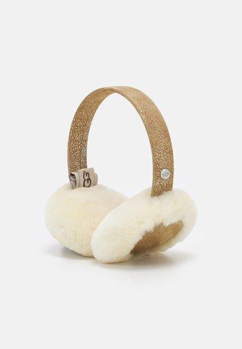 BLUETOOTH EARMUFF - Słuchawki - chestnut