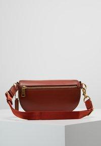 Coach - COATED SIGNATURE FANNY PACK - Bum bag - tan rust - 2
