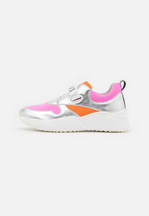 Sneakers basse - argento