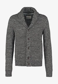 Pier One - Strikjakke /Cardigans - dark grey melange - 7
