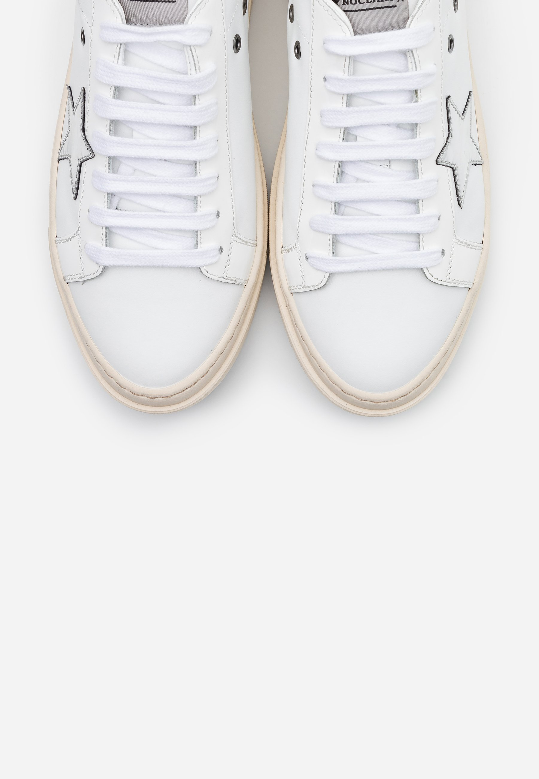 Noclaim ANDREA - Trainers - bianca Women's Skate Shoes orNE6