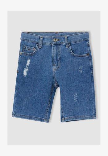 Jeansshorts - blue