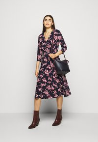 Lauren Ralph Lauren - MATTE DRESS - Day dress - navy/orient - 1