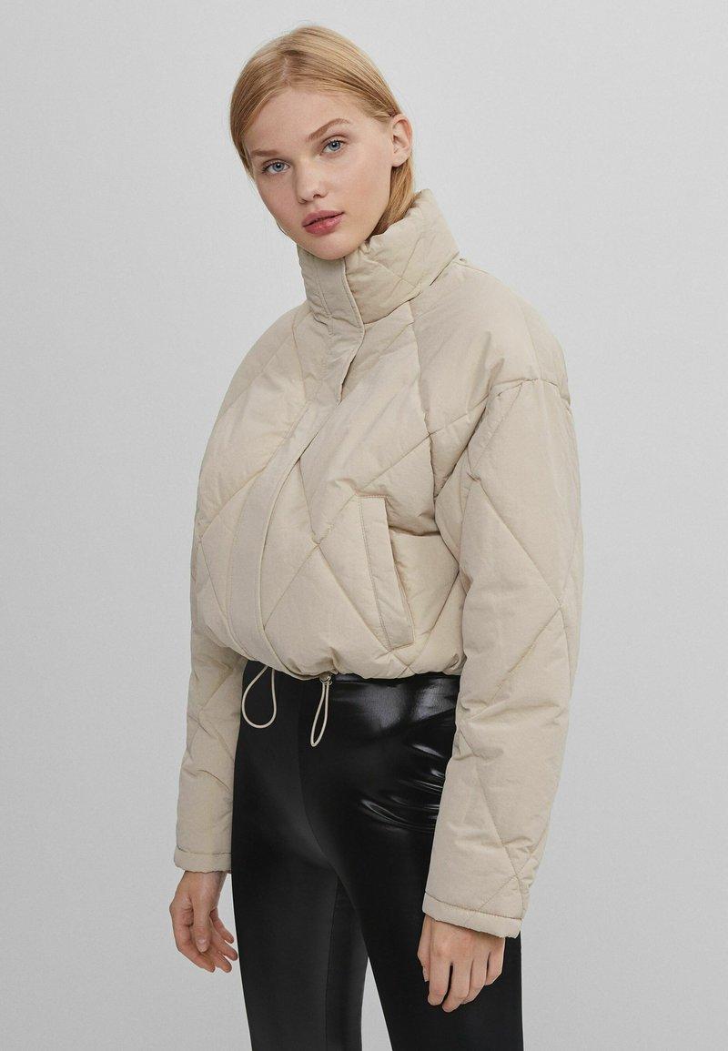 Bershka - Light jacket - beige