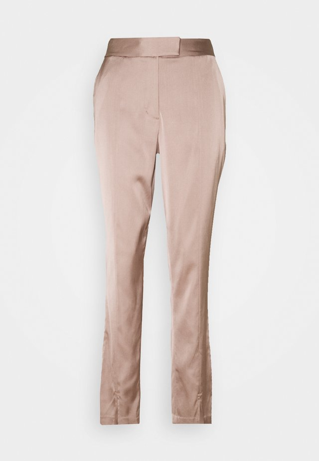 CLASSIC TROUSERS - Pantaloni - stucco