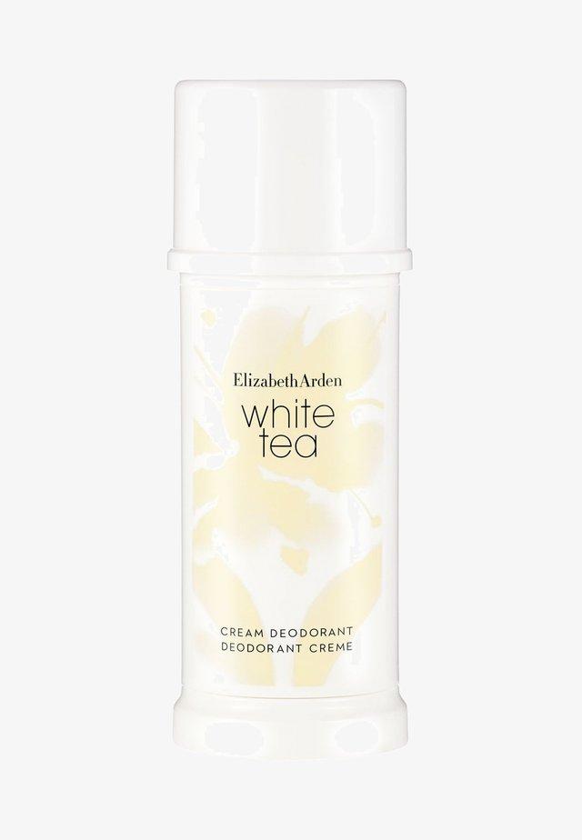 WHITE TEA DEODORANT CREAM - Deodorant - -