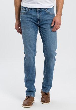 DAMIEN - Straight leg jeans - light-blue