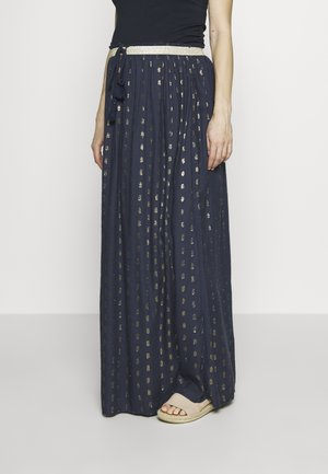 CHOSEN PATH - Maxi skirt - night blue