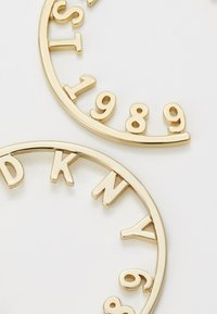 DKNY - 1989 ROUND HOOP - Ohrringe - gold-coloured - 2